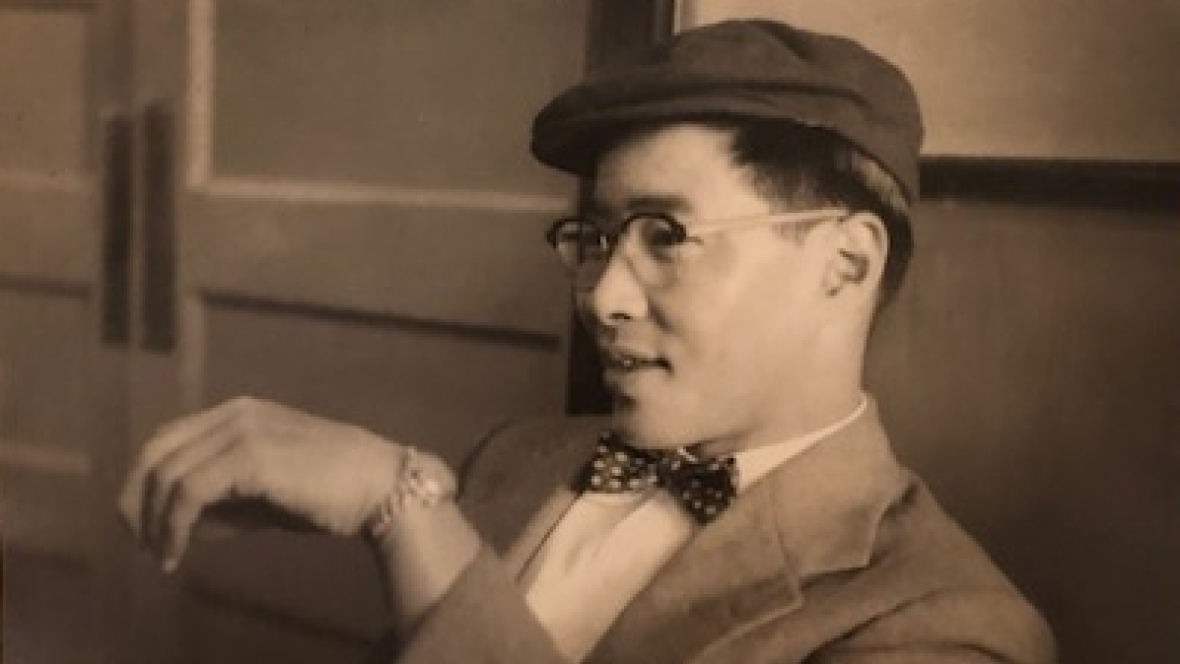 Fred Ko in his younger years. Ko was born in Vancouver in 1916. (Submitted by Alison Ko)