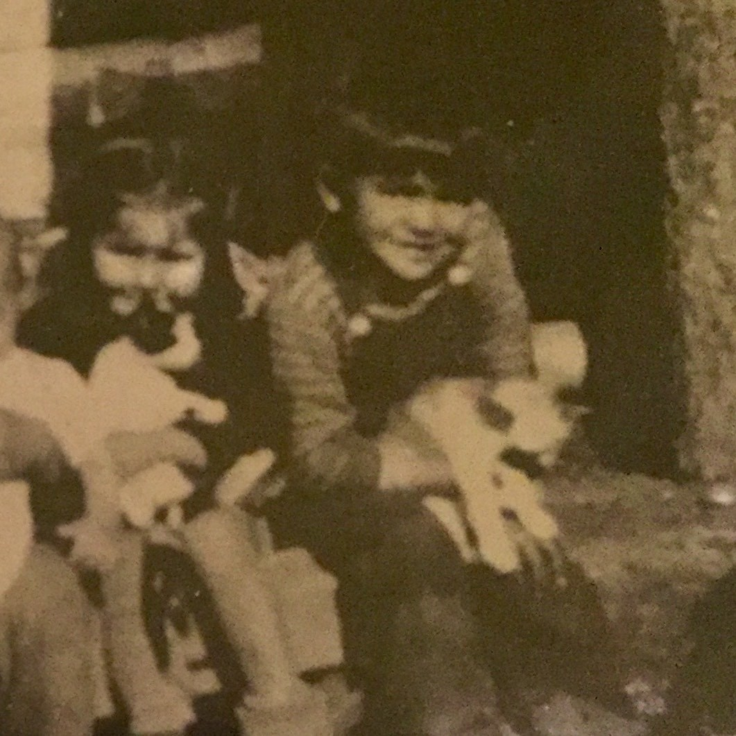 Chief Leonard Andrew, right, before he was taken to Kamloops Indian Residential School. (Submitted by Jackie Andrew)