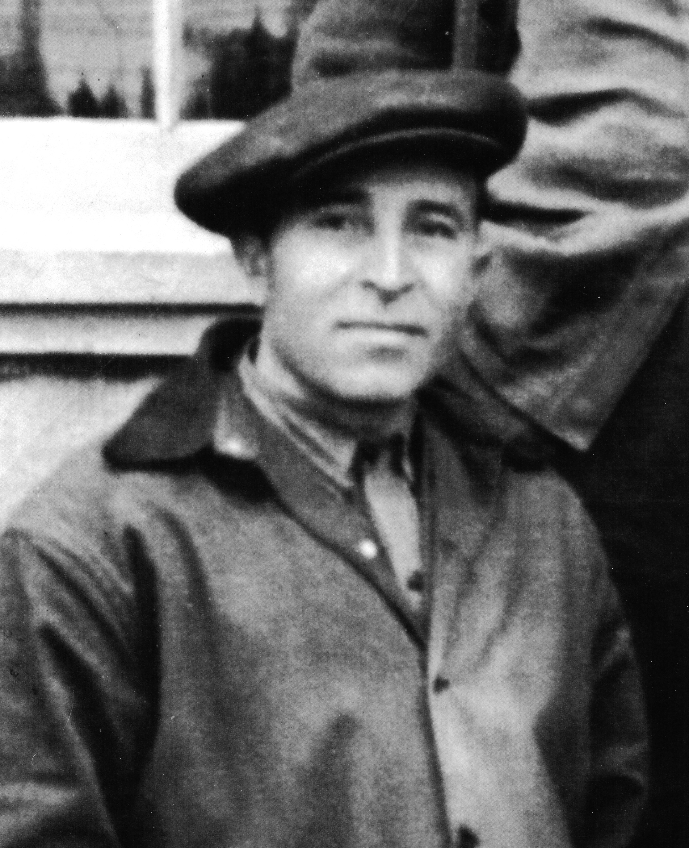 Nicola Doganieri in 1943, during his internment at Camp 70 in Fredericton. (Pillarella Collection)