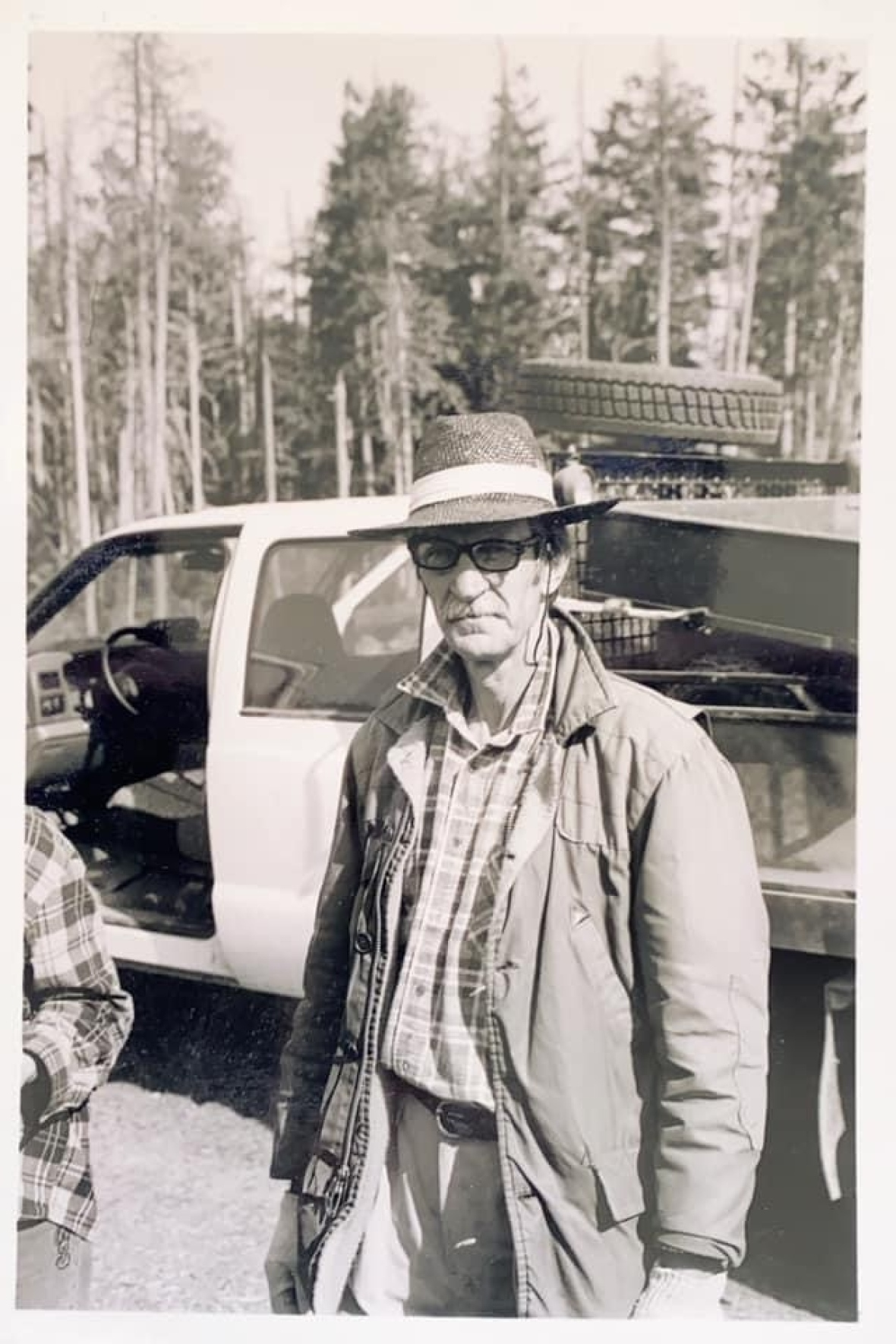Jerry Krouzel in an undated photo. The long-time treeplanter was working on a job just two weeks before family say COVID-19 felled the tall, formidable forester.