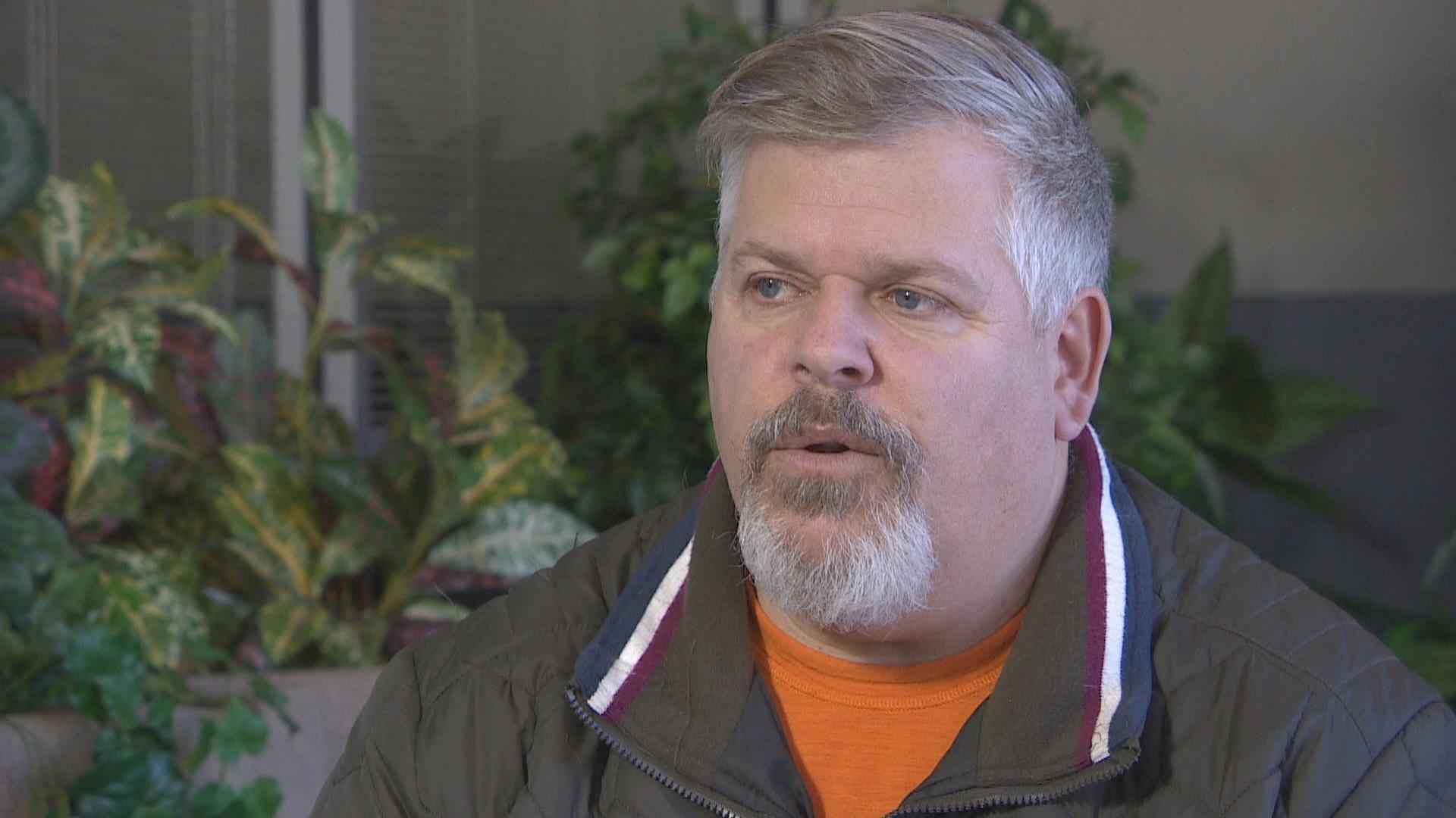 Curtis Kemp used to conduct online sexual exploitation investigations for the Regina Police Service. (Aldo Columpsi/CBC)