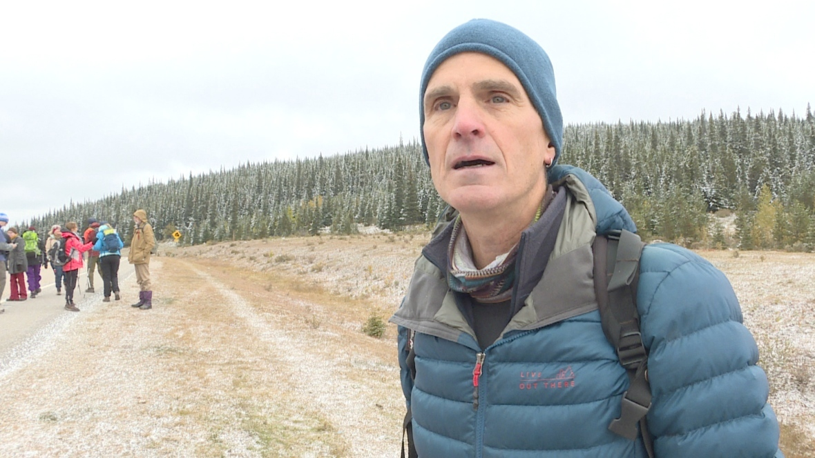 Dave Klepacki, seen here in a file photo, is a retired geophysicist who lives in Bragg Creek and an avid outdoorsman who spends a lot of time on and around the Elbow River. (Anis Heydari/CBC)