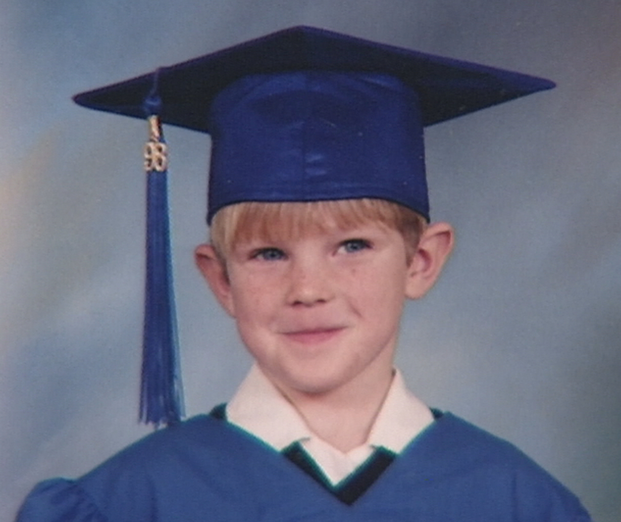 Kyle Hynes was just five years old when he was caught upstairs in a house fire in Bell Island in 1998. (File photo)