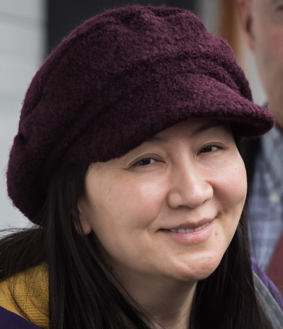 Huawei chief financial officer Meng Wanzhou arrives back at her home after a court appearance in Vancouver, on Wednesday March 6, 2019.