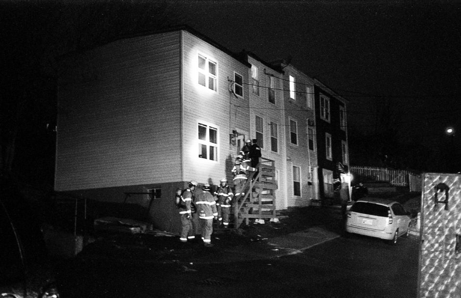 A man was killed in 2014 in this house on Tessier Place, in downtown St. John's. (Michelle Porter)