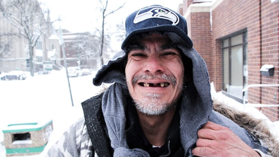 Robert Lloyd Viverais, also known as Whitehorse Thunderman, has learned how to survive Winnipeg winters without a home.