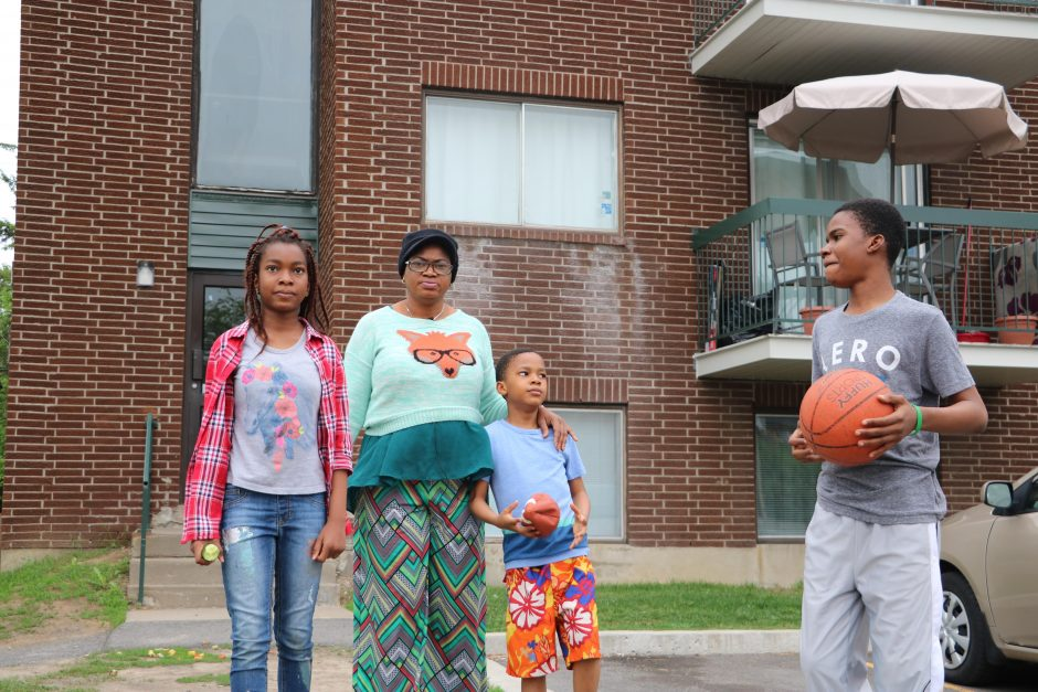 A family from Nigeria crossed into Canada at the end of March. Now they live in a Montreal suburb.
