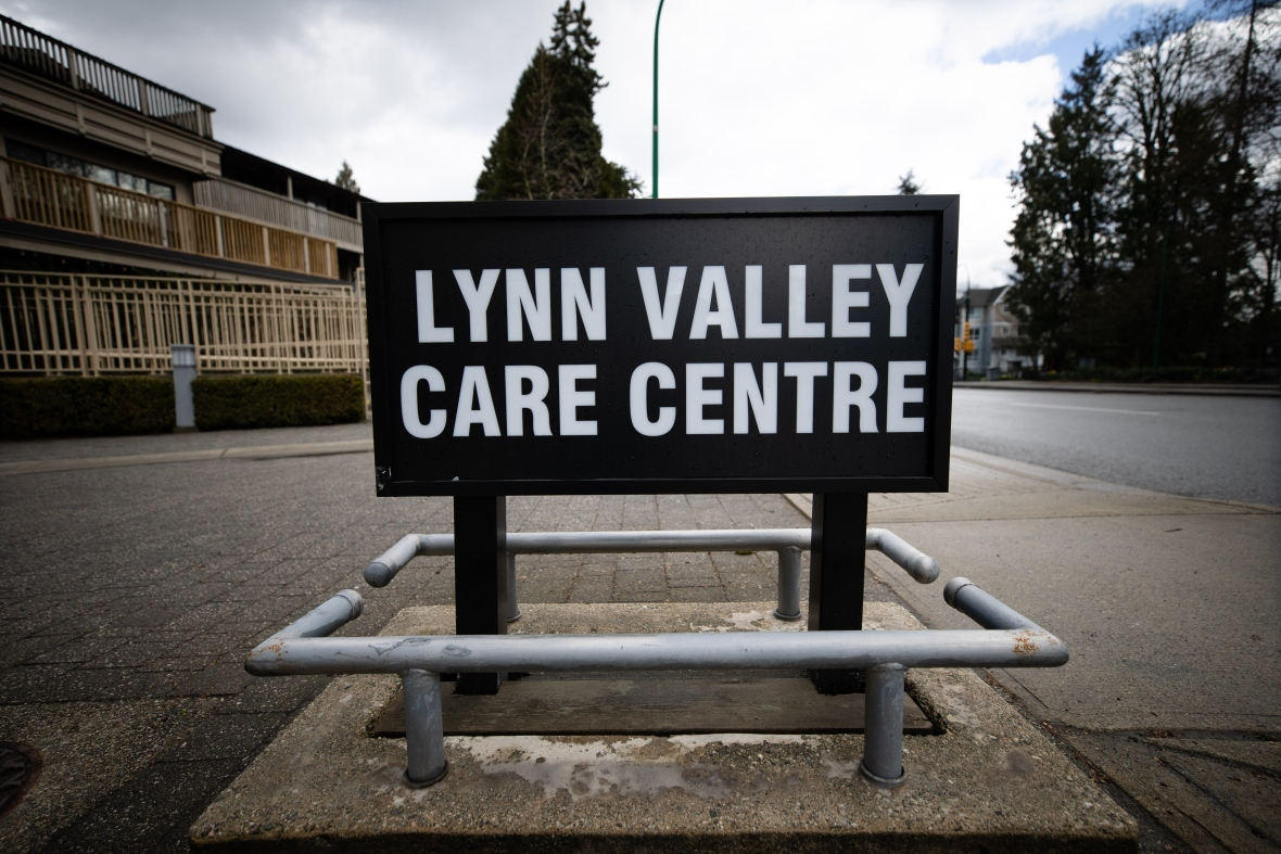 North Vancouver's Lynn Valley Care Centre has become the face of the battle against COVID-19 in Canada's long-term care homes. (Maggie MacPherson/CBC)