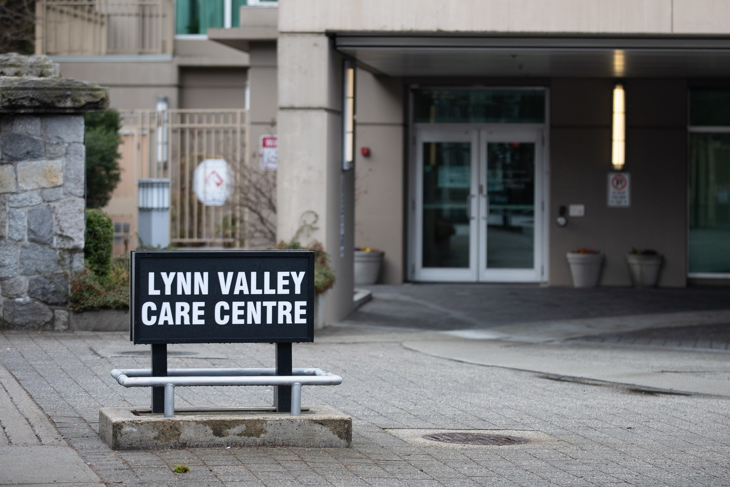 The Lynn Valley Care Centre in North Vancouver on Monday, March 23, 2020. (Maggie MacPherson/CBC)