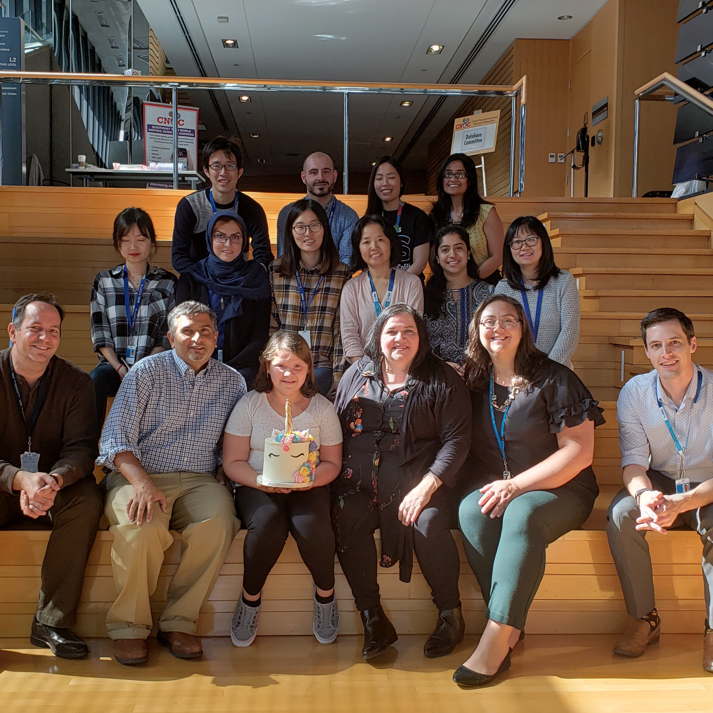 Three weeks ago, Brygette Park visited the NEOPICS team in Toronto. (Courtesy of NEOPICS)