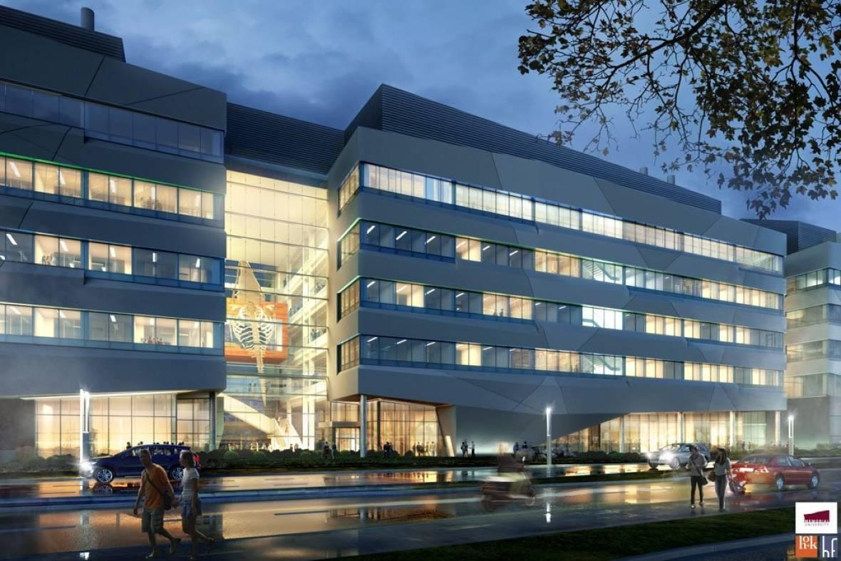 An artist's rendering of the completed Core Science Facility. (Memorial University)