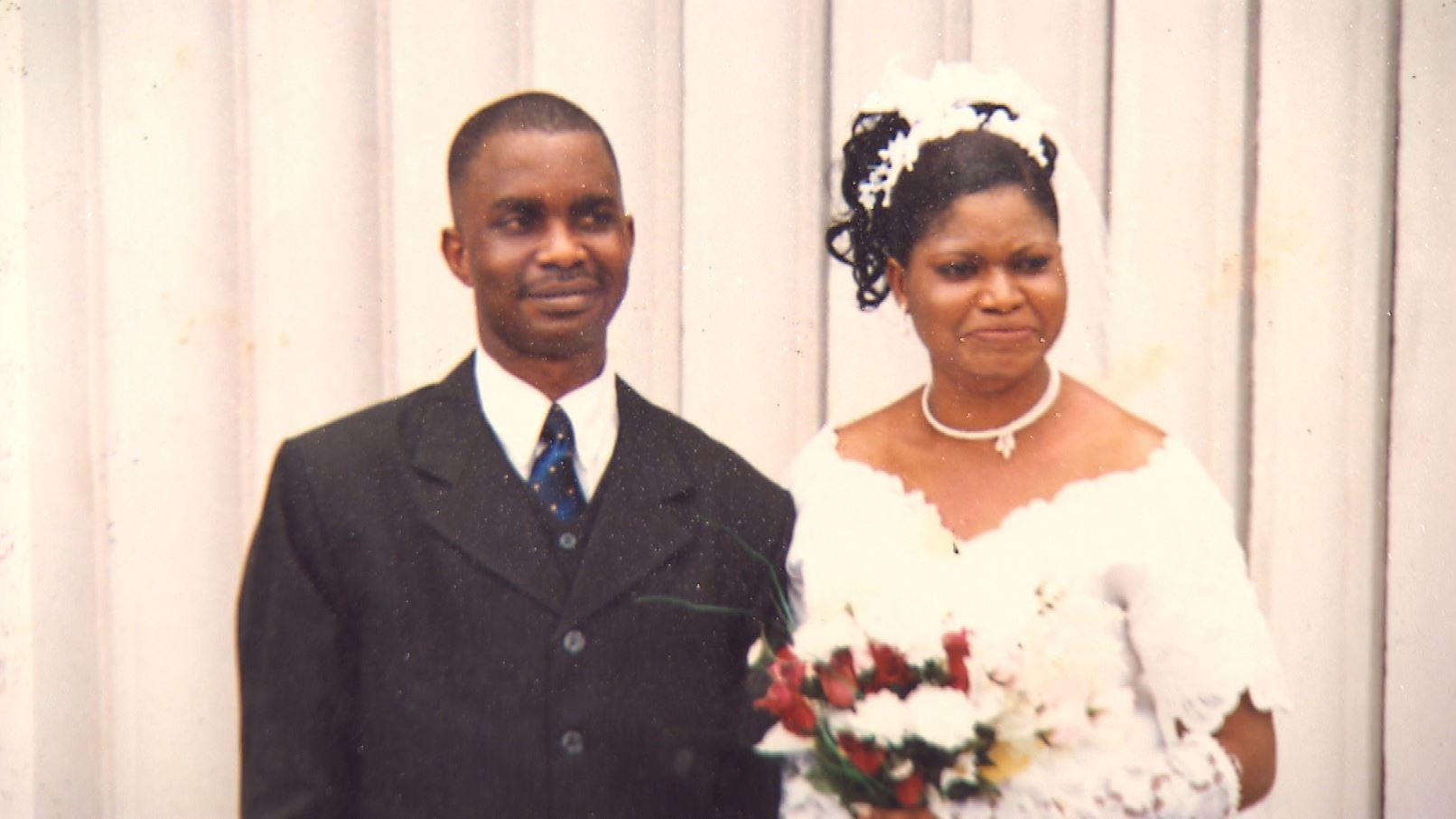 Agnes and her husband, Modupe Segun-George, had a comfortable life in Nigeria. (Modupe Idowu Agnes)