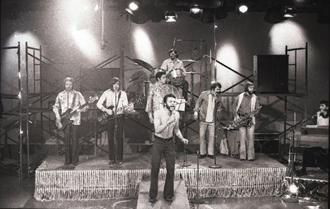 The Garrison Hill band performing in the 1960s. (Greg Dodd)