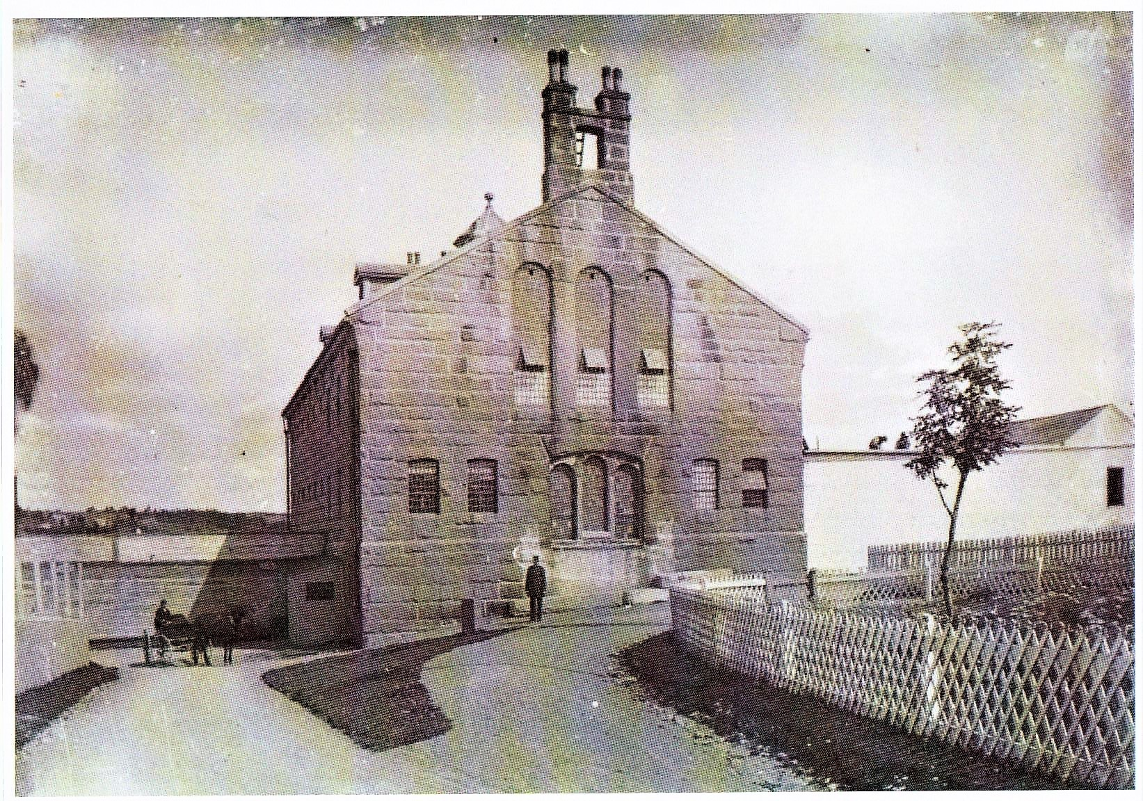Her Majesty's Penitentiary in the early 1900s. (David Harvey)