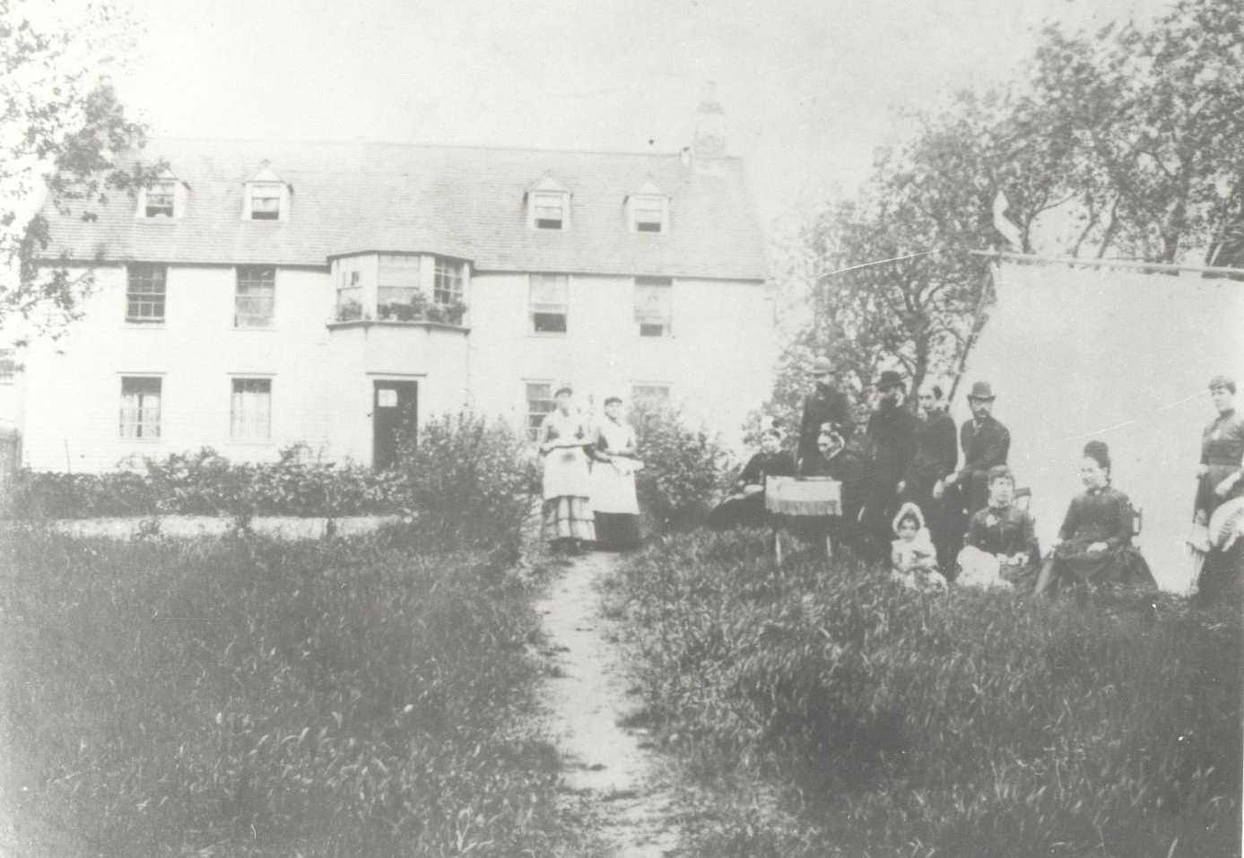 A rare image of the Royal Lake Pavillion in Quidi Vidi in the 1890s. (MUN Special Collections and Archives)