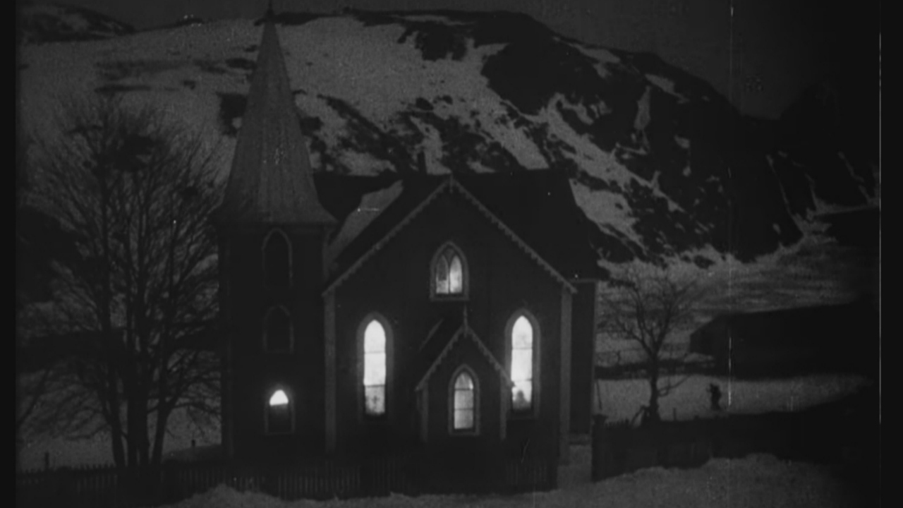 The church was used in the Canadian feature film, The Viking, in 1931. (NFB)