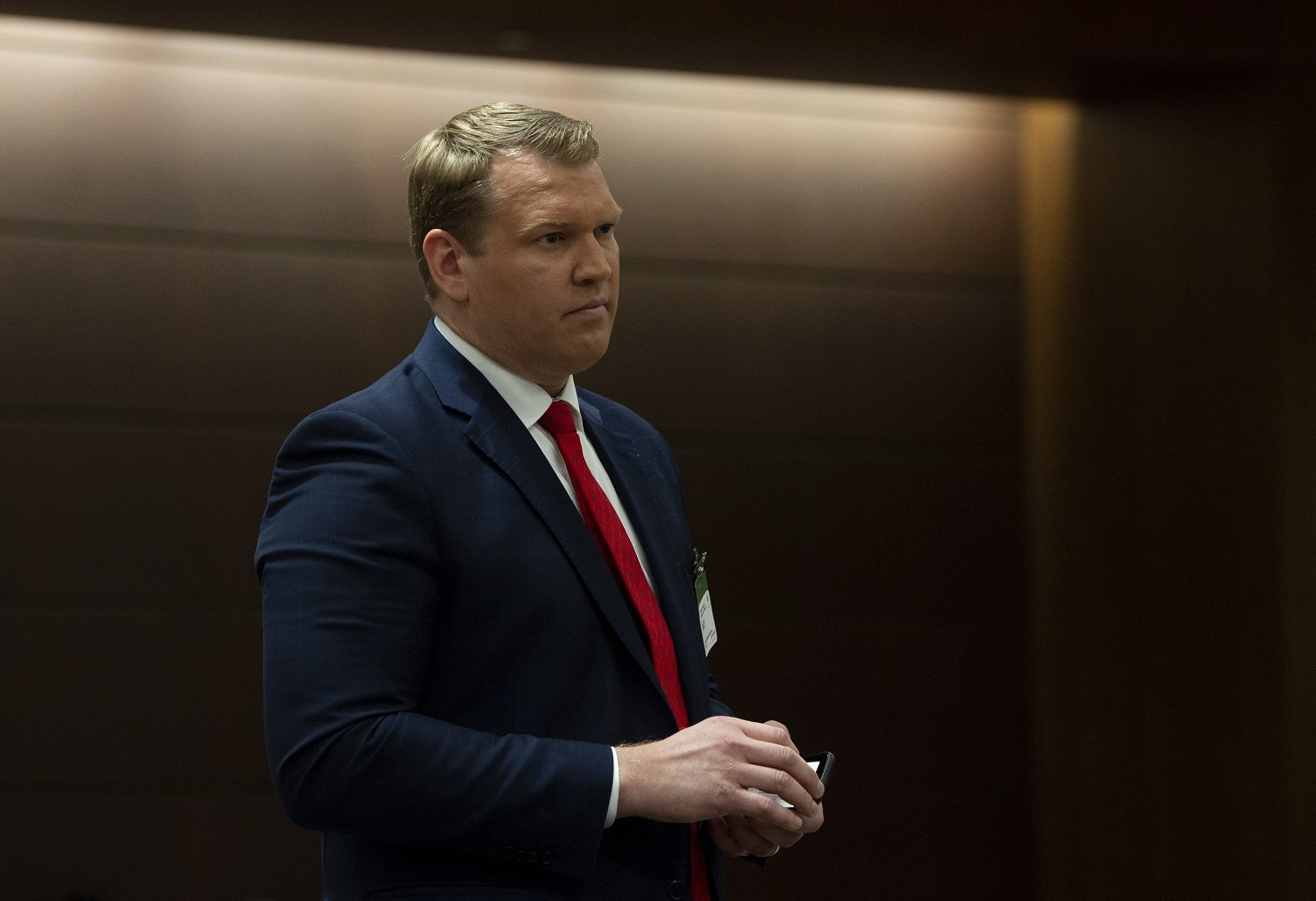 Co-founder and CEO of the Concussion Legacy Foundation Chris Nowinski waits to appear at the House of Commons' health committee on sports-related concussions in Ottawa, Wednesday, Feb. 6, 2019. Nowinski is critical of the Consensus statement on concussion in sport. (Adrian Wyld/Canadian Press)
