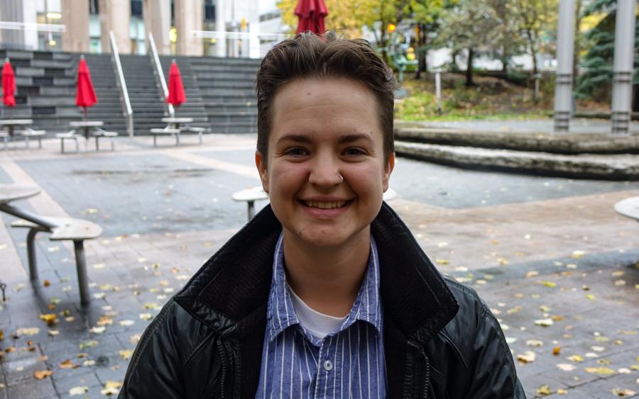 CJ Blake started Hygge Homesharing to address LGBTQ+ youth homelessness in Ottawa. (Ash Abraham/CBC)