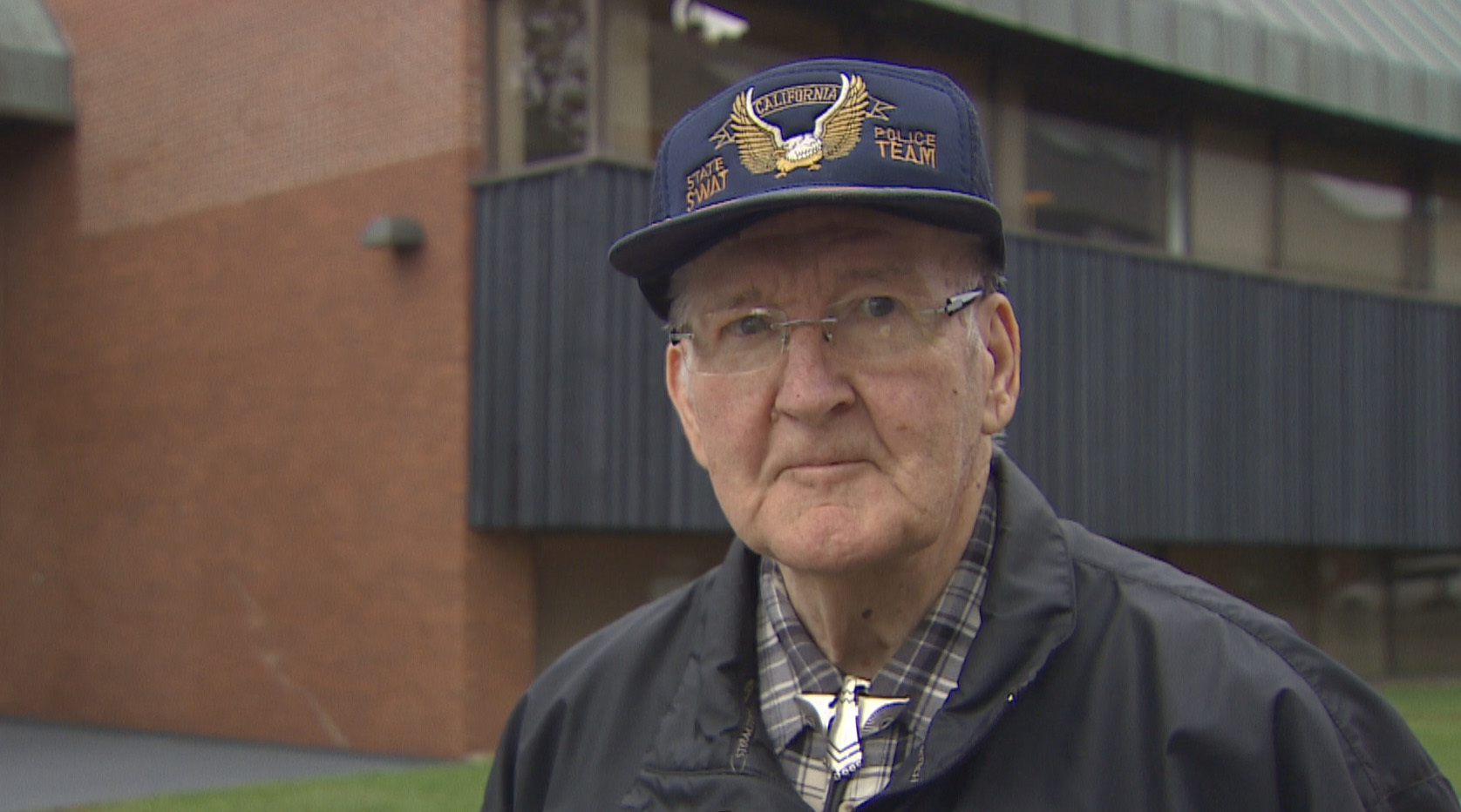 Bill Acorn was the deputy sheriff at the courthouse in October 1988 when the bombing happened. (Shane Hennessey/CBC)