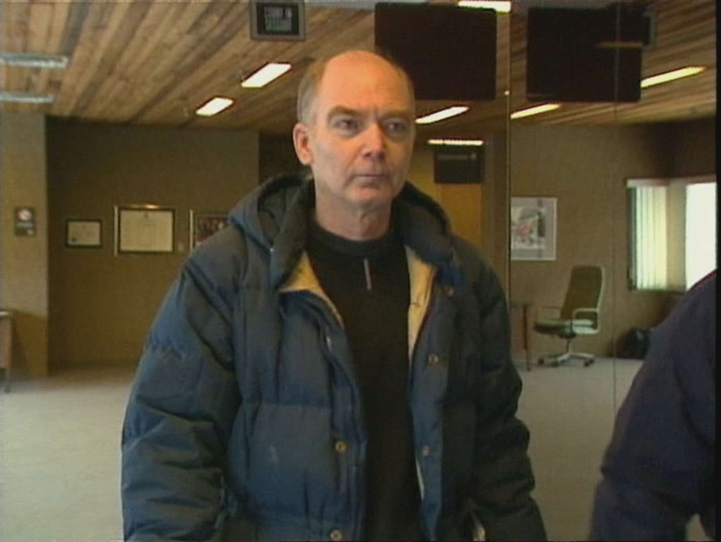 Roger Bell was one of 10 main suspects the police investigated. This is a picture from a court appearance in 1997. (CBC)