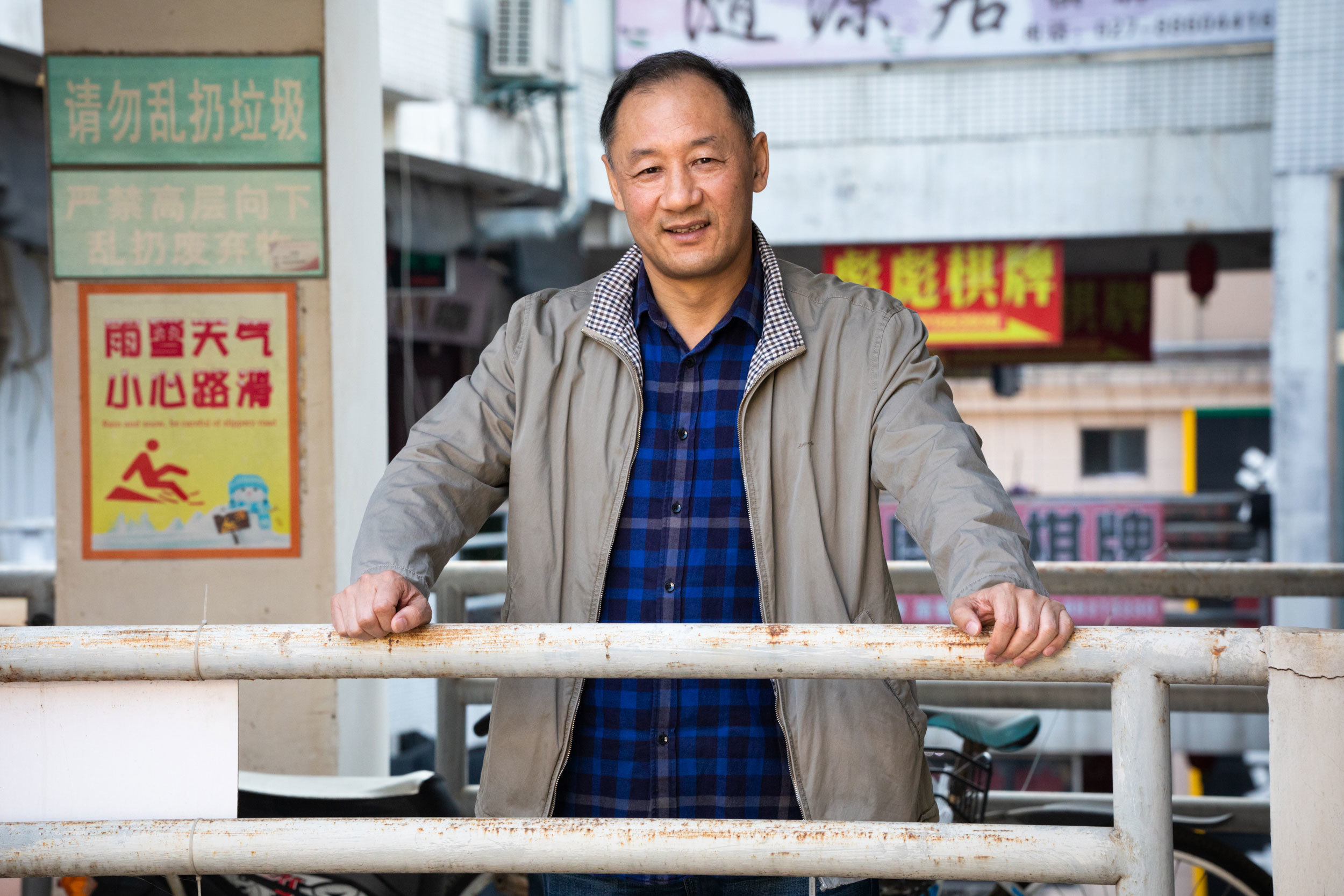 Dr. Yu Changping was the first doctor to be infected with COVID-19 in Wuhan. He spent his time in treatment posting inspirational messages to others. Chinese state media said he was 'too handsome to die.' (Saša Petricic/CBC)