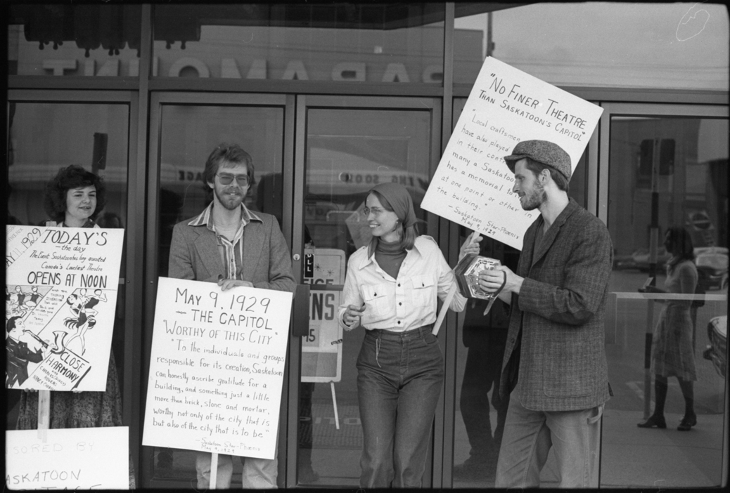 Lead Capitol preservationist Don Kerr (not pictured), looking back in 1980, said the campaign to save the Capitol began too late. (Saskatoon Public Library Local History Room; item ph-2018-243-5)