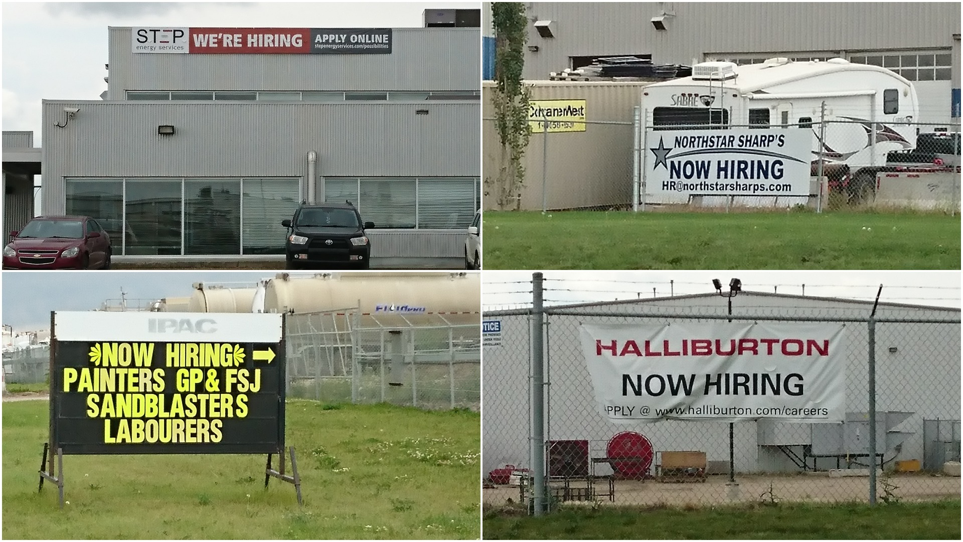 Grande Prairie is bustling and jobs are easy to find. (Tony Seskus/CBC)