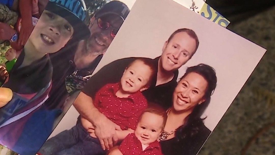 Reid Hance, 46, died of COVID-19 at his home in Tsawwassen, B.C., on April 14, 2021. (Melissa Hance)