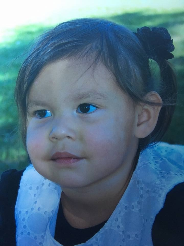 Three-year-old Serenity. (Supplied)