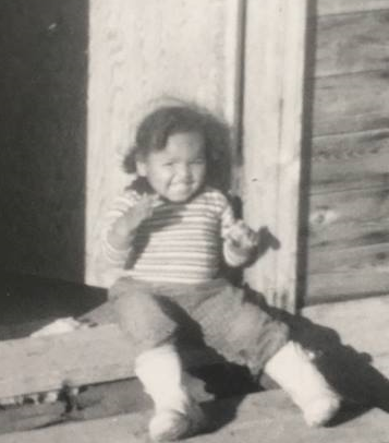 Shannon Coleman was born and raised in Fort Smith, N.W.T. Here she is around the time the landslide occurred. (50 Year Commemoration Of The Fort Smith Landslide/Facebook)
