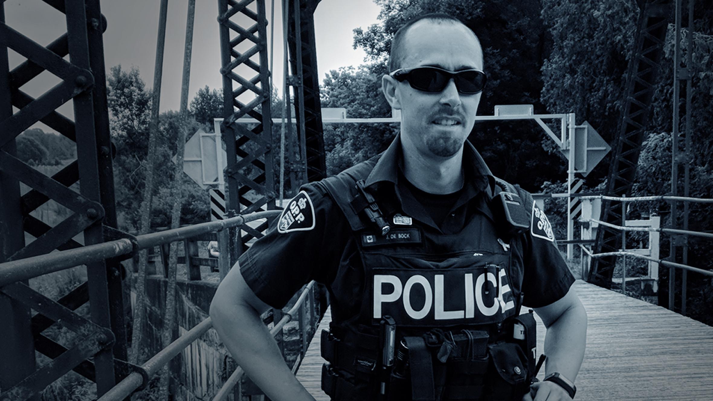 Officer down   CBC News