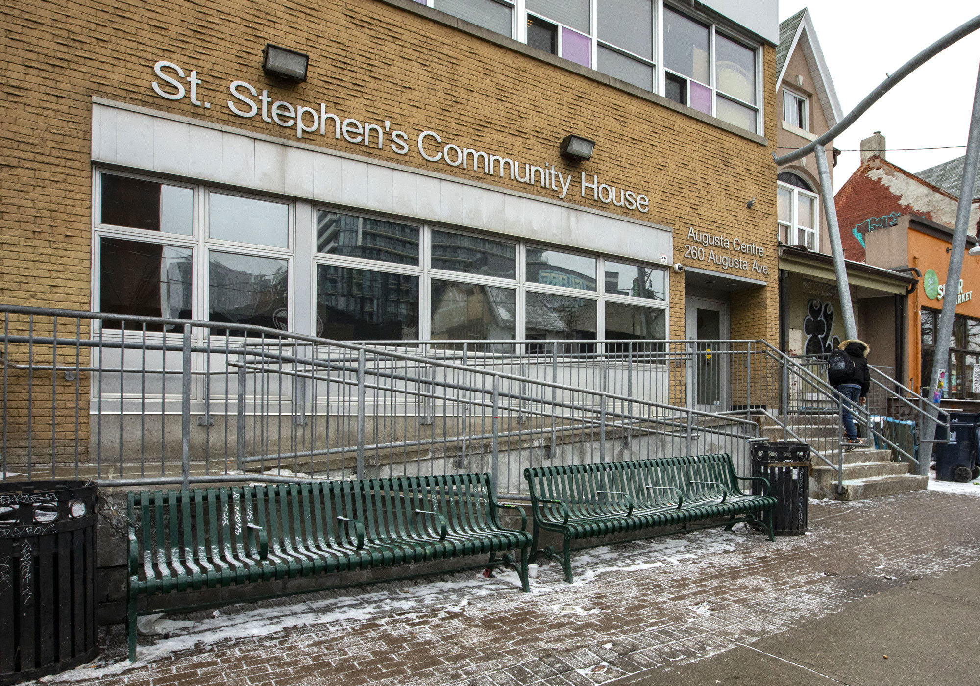 St. Stephen's Community House in Toronto has started several pilot projects targeted specifically at meth users. (Michael Wilson/CBC)