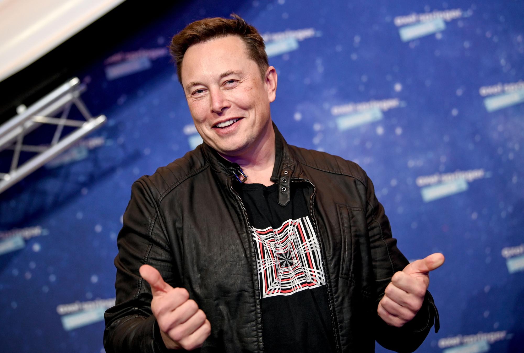 Elon Musk's grandfather, Joshua Haldeman, was a Technocracy leader in Saskatchewan between 1936 and 1941. Musk says he wants to build a 'Martian Technocracy.' (Britta Pedersen/Pool/AFP via Getty Images)