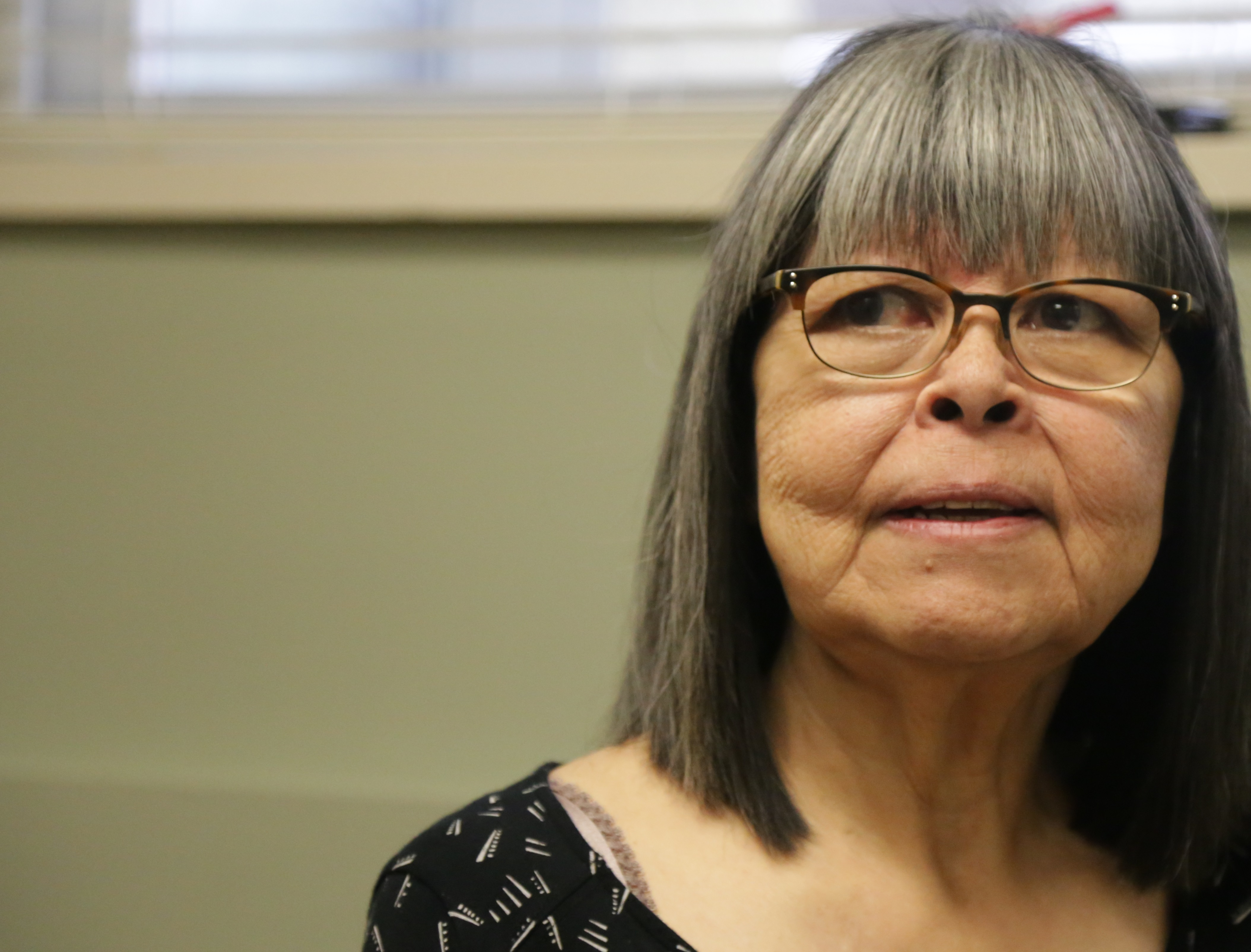 Wanda Christianson believes that language classes will help her healing journey. (Rehmatullah Sheikh/V.S. Wells)