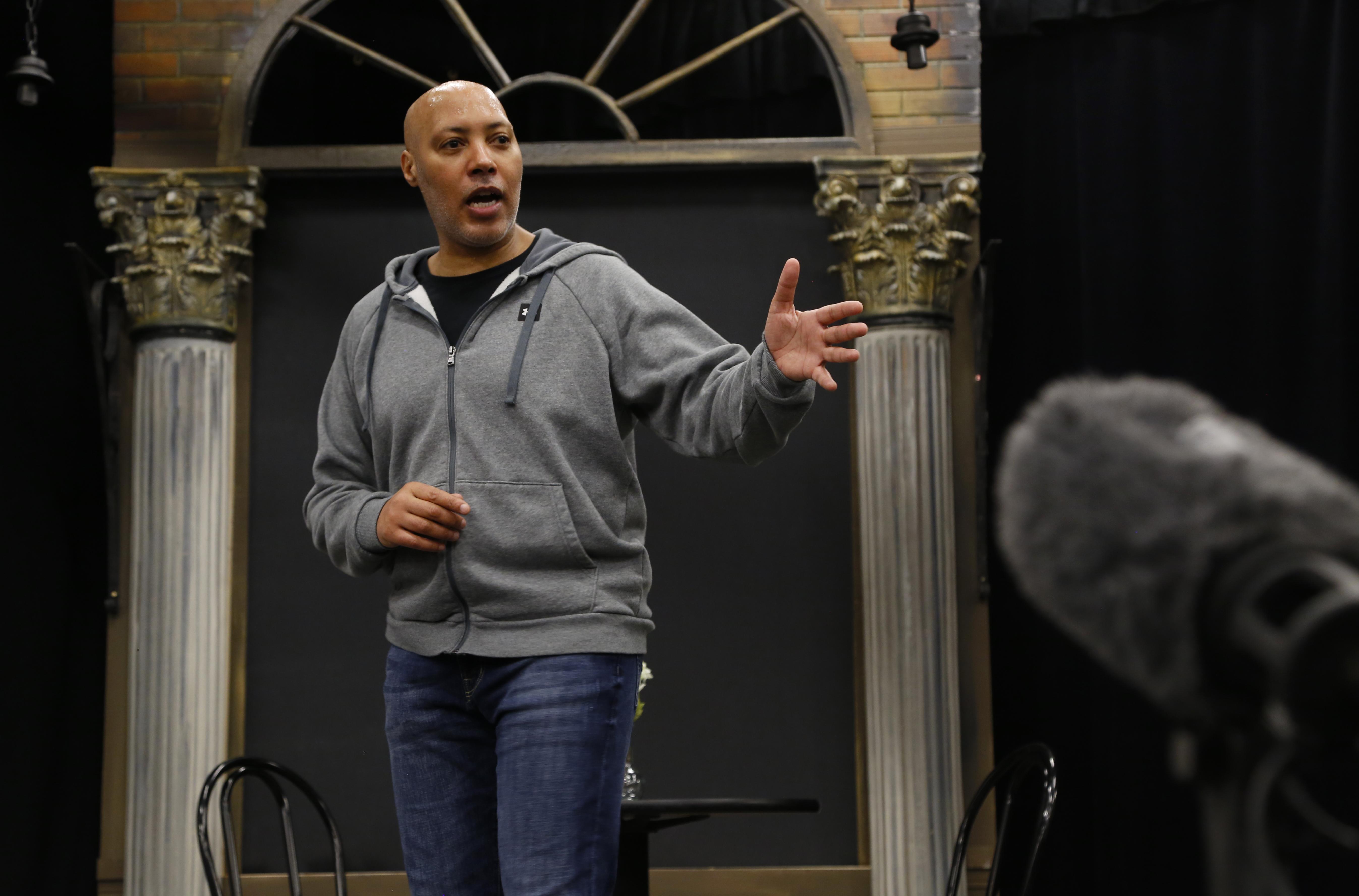 Timothy Christie of Moncton plays Walker. (Maria Jose Burgos/CBC)