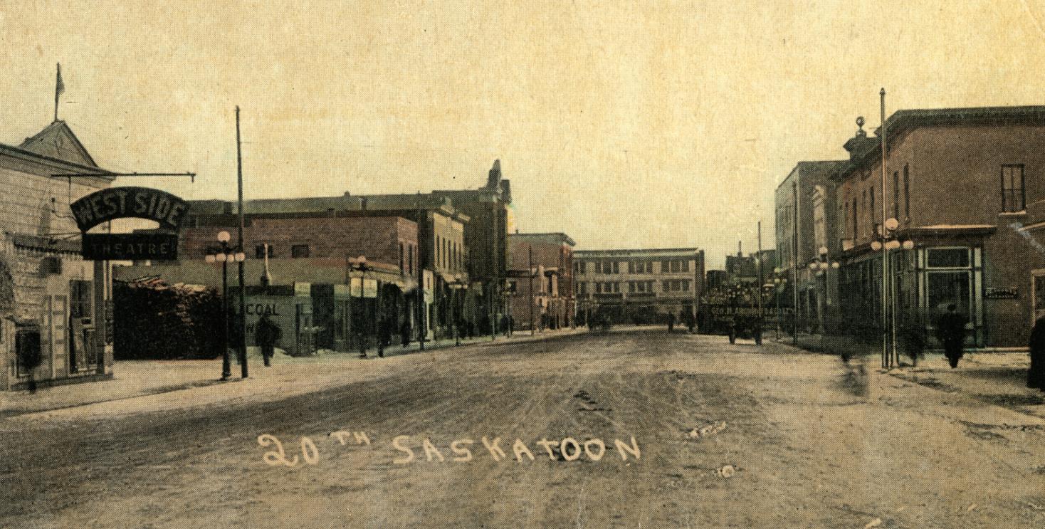 The Sound Of Silents Inside Saskatoon S First Movie