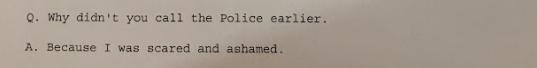 London police transcript