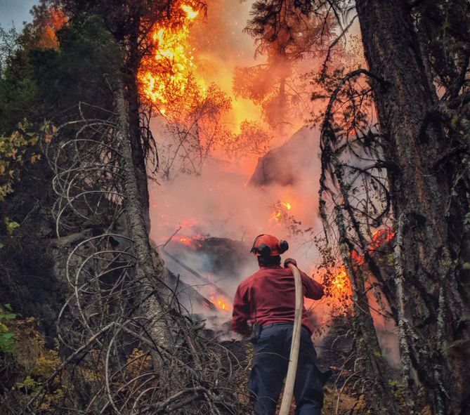 B.C. has spent more than $1 billion fighting wildfires in 2017 and 2018. (B.C. Wildfire Service)