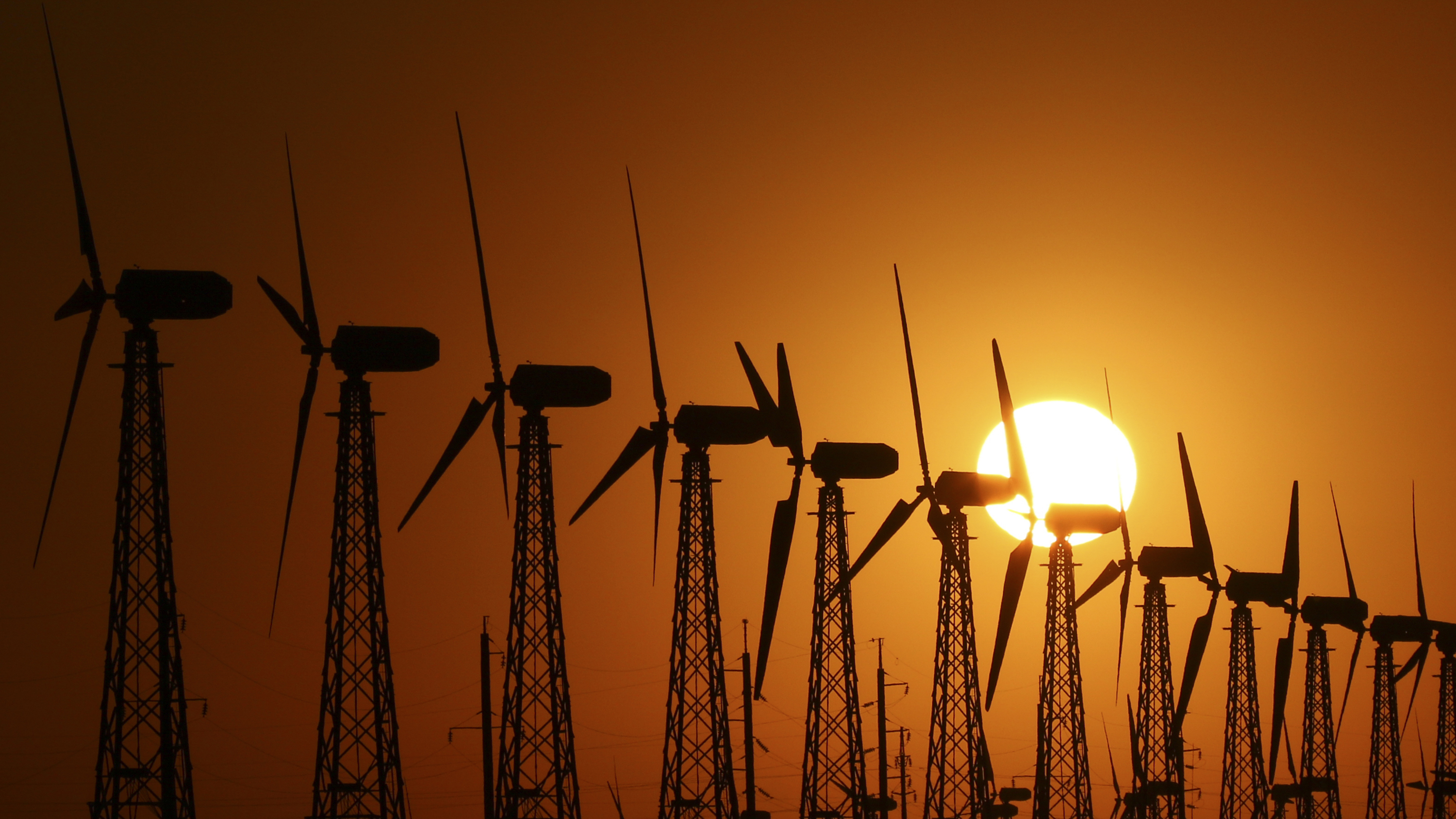 Metals such as manganese, nickel and copper are critical for the construction of wind turbines. (Reuters)